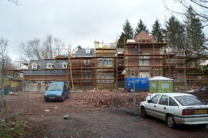 New house on Endrick Road