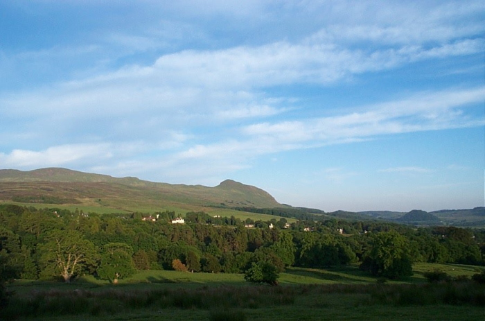 Campsie Fells from Chestnut Avenue