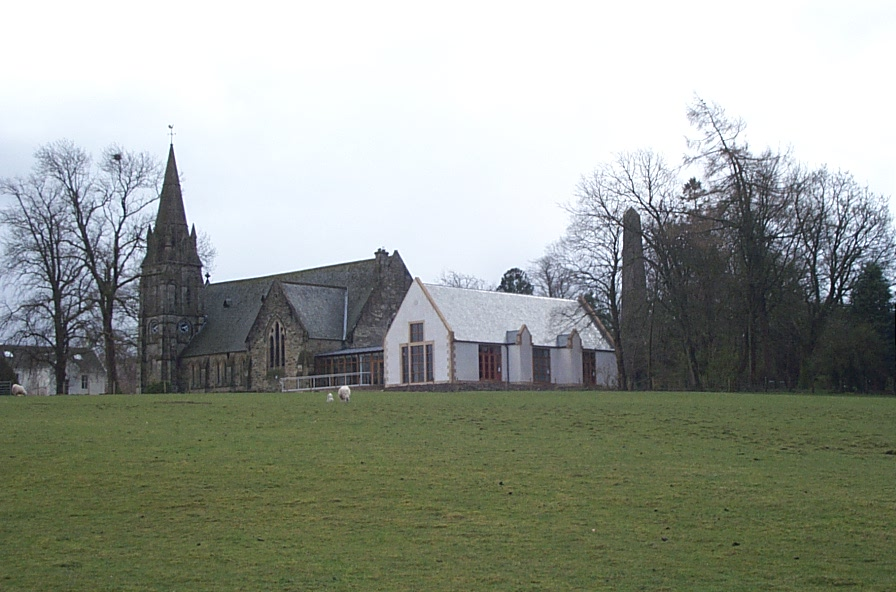 The Kirk and New Village Hall