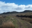 View from about half way up the Campsie Fells