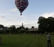 Hot air balloon over Killearn