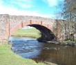 Station Road Bridge and River Blane