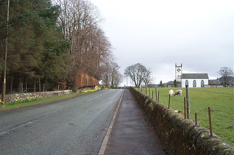 Station Road and Village Hall.