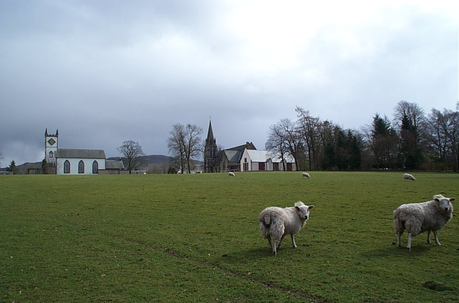 Village Hall and The Kirk