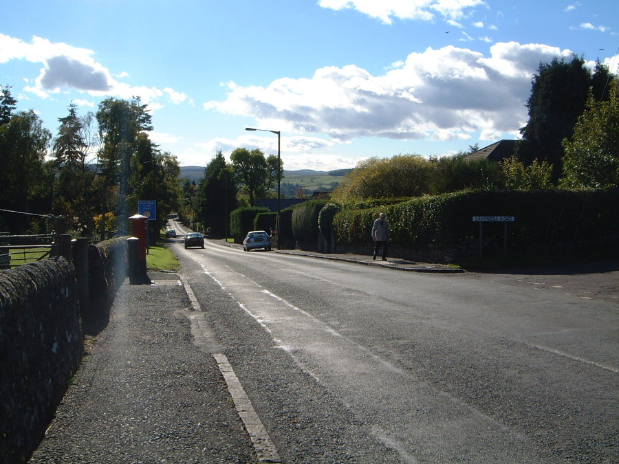 Looking down Station Road