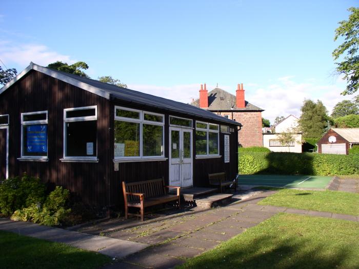 Tennis club house
