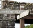 West Highland Way sign