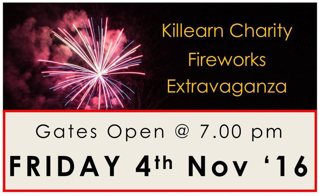 Killearn Annual Fireworks Extravaganza 2016