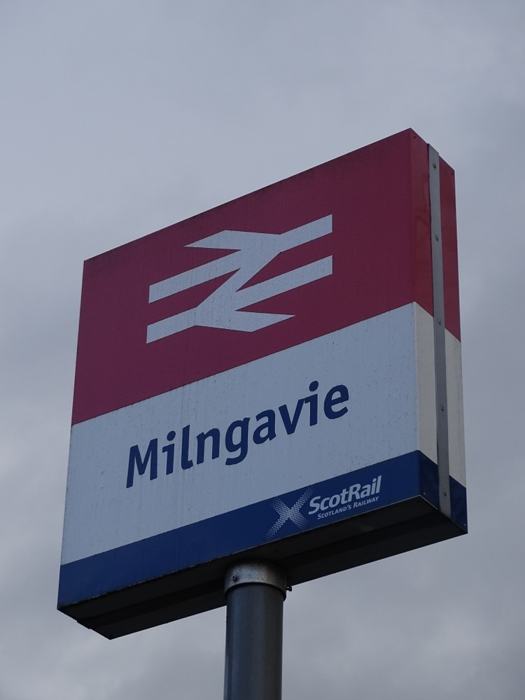 Milngavie railway station